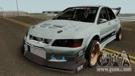 Mitsubishi Lancer Evolution IX Voltex Edition for GTA San Andreas