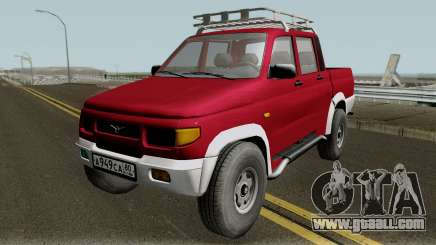 UAZ 2362 Pickup revision v2.0 for GTA San Andreas