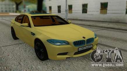 BMW M5 F10 Sedan for GTA San Andreas