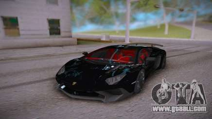 Lamborghini Aventador LP700-4 Roadster for GTA San Andreas