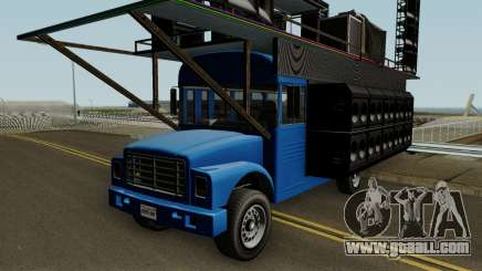 Vapid Festival Bus GTA V IVF for GTA San Andreas