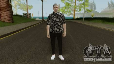 Skin DLC After Hours Male for GTA San Andreas second screenshot