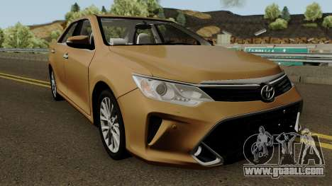 Toyota Camry V55 2017 for GTA San Andreas