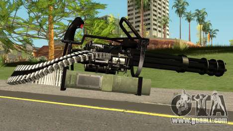 Minigun HQ (With HD Original Icon) for GTA San Andreas