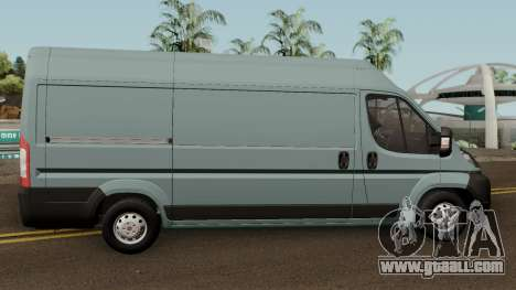 Fiat Ducato Mk3 Maxi for GTA San Andreas back view