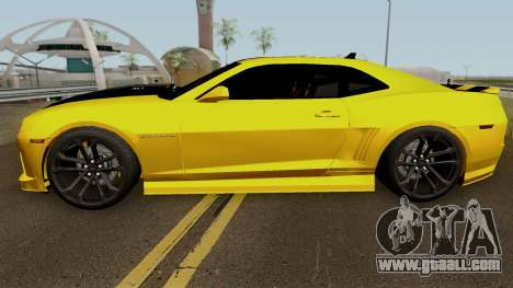 Mygarage Chevrolet Camaro SS Construction (Izmir for GTA San Andreas