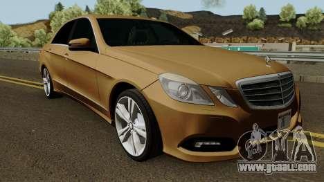 Mercedes-Benz E500 for GTA San Andreas inner view