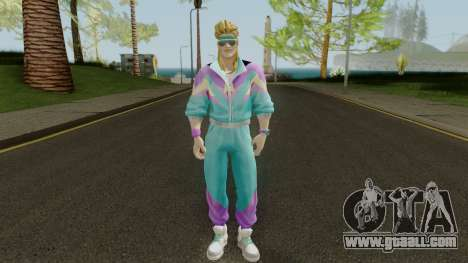 Fortnite 80s Skin Male for GTA San Andreas