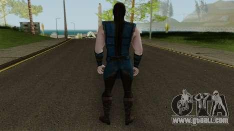 Klassic Sub-Zero MKXM for GTA San Andreas third screenshot