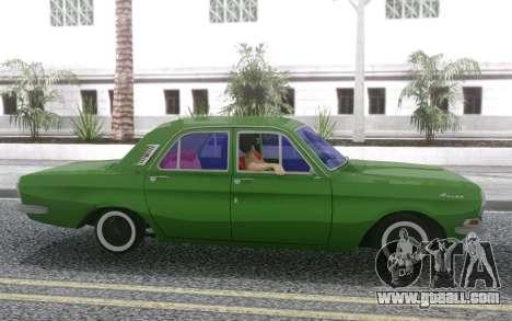 GAZ-24 for GTA San Andreas