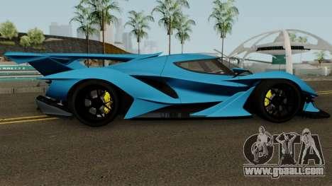 Apollo Intenza Emozione for GTA San Andreas back view