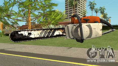 Chainsaw HQ (With HD Original Icon) for GTA San Andreas
