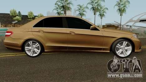 Mercedes-Benz E500 for GTA San Andreas back view