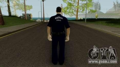 Magyar Rendor BRFK Low Quality for GTA San Andreas third screenshot