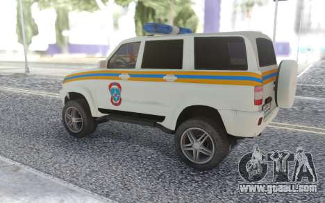 UAZ Patriot MES for GTA San Andreas right view