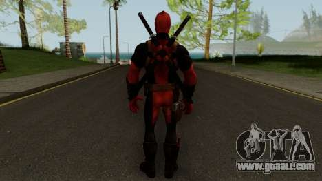 Marvel Future Fight - Deadpool for GTA San Andreas third screenshot