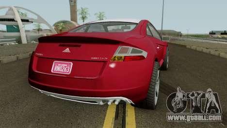 Maibatsu Penumbra (r2) GTA V IVF for GTA San Andreas