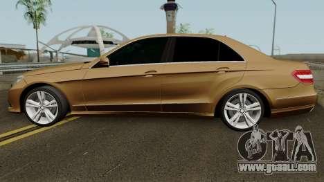 Mercedes-Benz E500 for GTA San Andreas left view