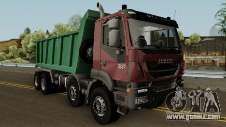 Iveco Trakker Dumper 8x4 for GTA San Andreas