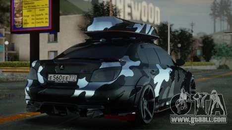 BMW M5 E60 INKS HAMANN for GTA San Andreas