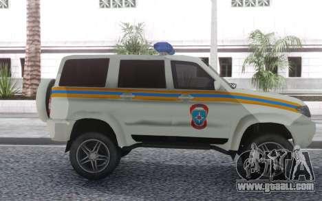UAZ Patriot MES for GTA San Andreas left view