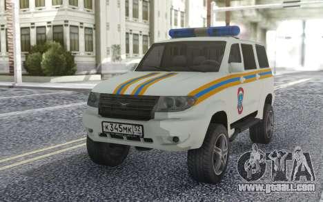 UAZ Patriot MES for GTA San Andreas