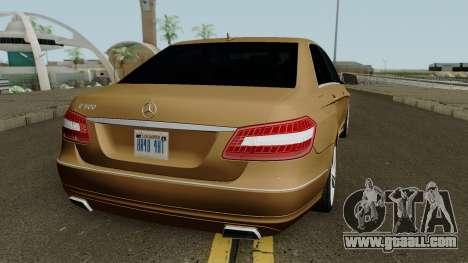 Mercedes-Benz E500 for GTA San Andreas right view