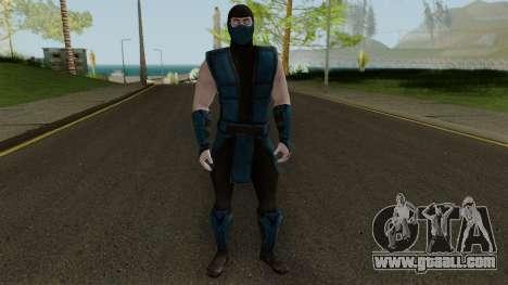 Klassic Sub-Zero MKXM for GTA San Andreas second screenshot