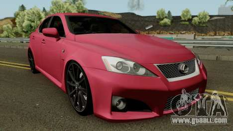 Lexus IS-F 2011 for GTA San Andreas