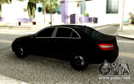 Mercedes-Benz E63 W212 for GTA San Andreas