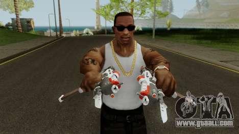 Sombra Talon Weapon for GTA San Andreas