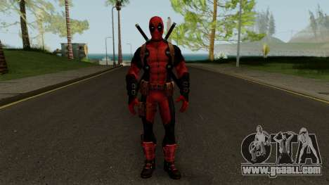 Marvel Future Fight - Deadpool for GTA San Andreas second screenshot