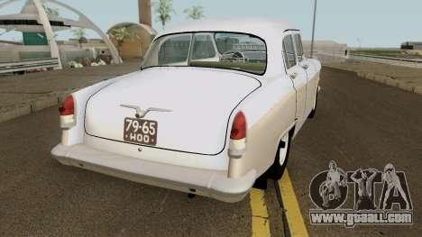 GAZ-21R v2 for GTA San Andreas