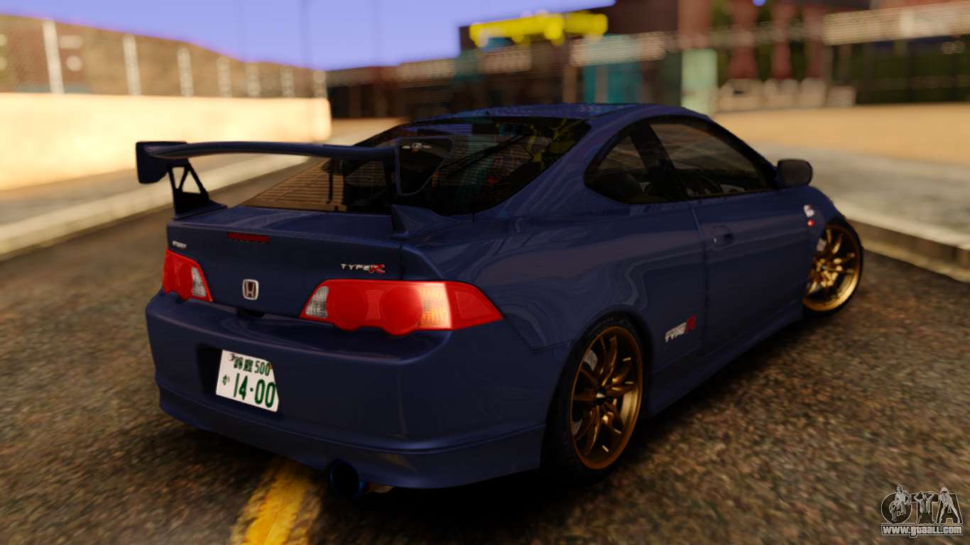 honda integra type r spoiler for gta san andreas. Black Bedroom Furniture Sets. Home Design Ideas