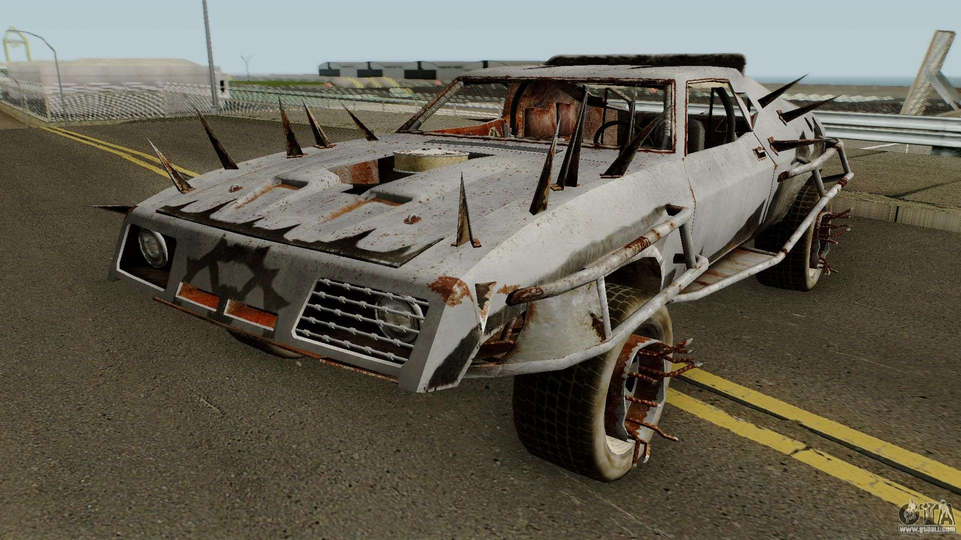 ford falcon from mad max the game for gta san andreas. Black Bedroom Furniture Sets. Home Design Ideas