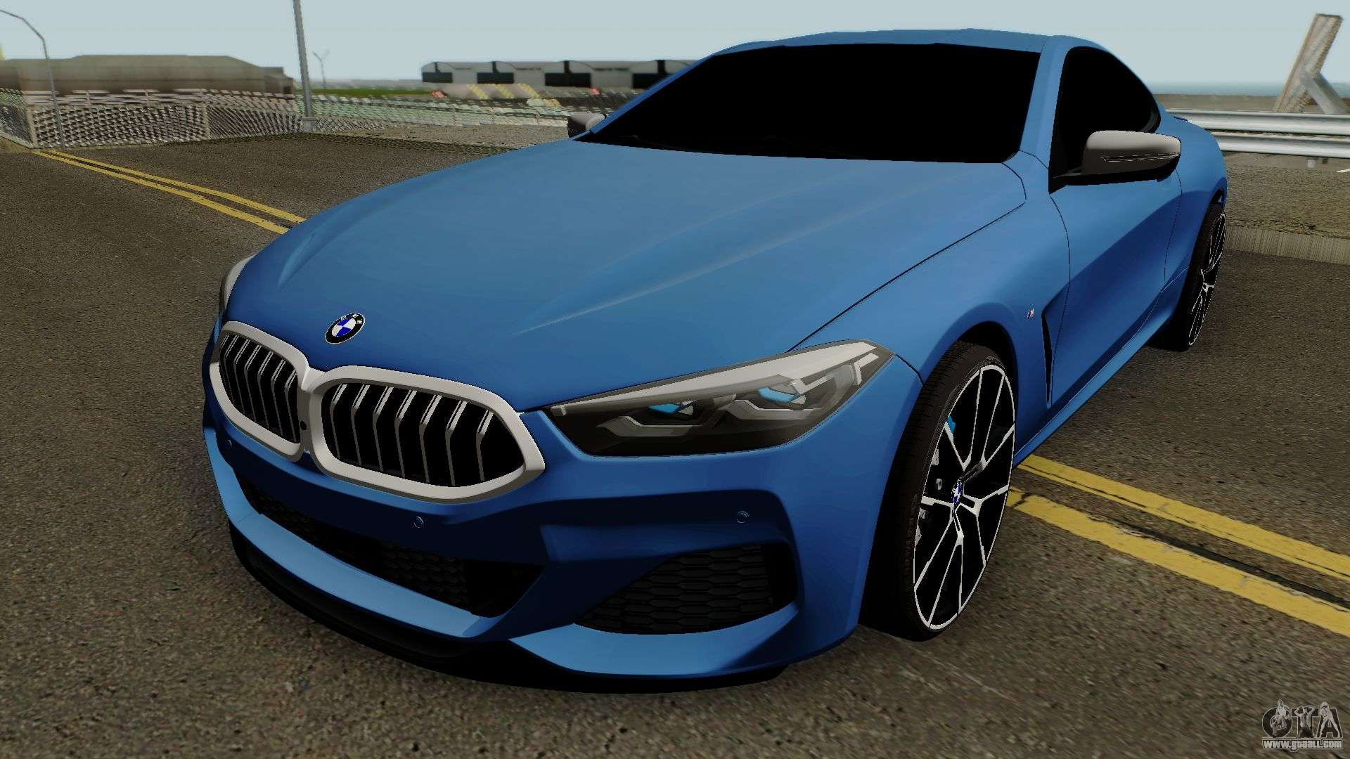 BMW 8-Series M850i Coupe 2019 For GTA San Andreas
