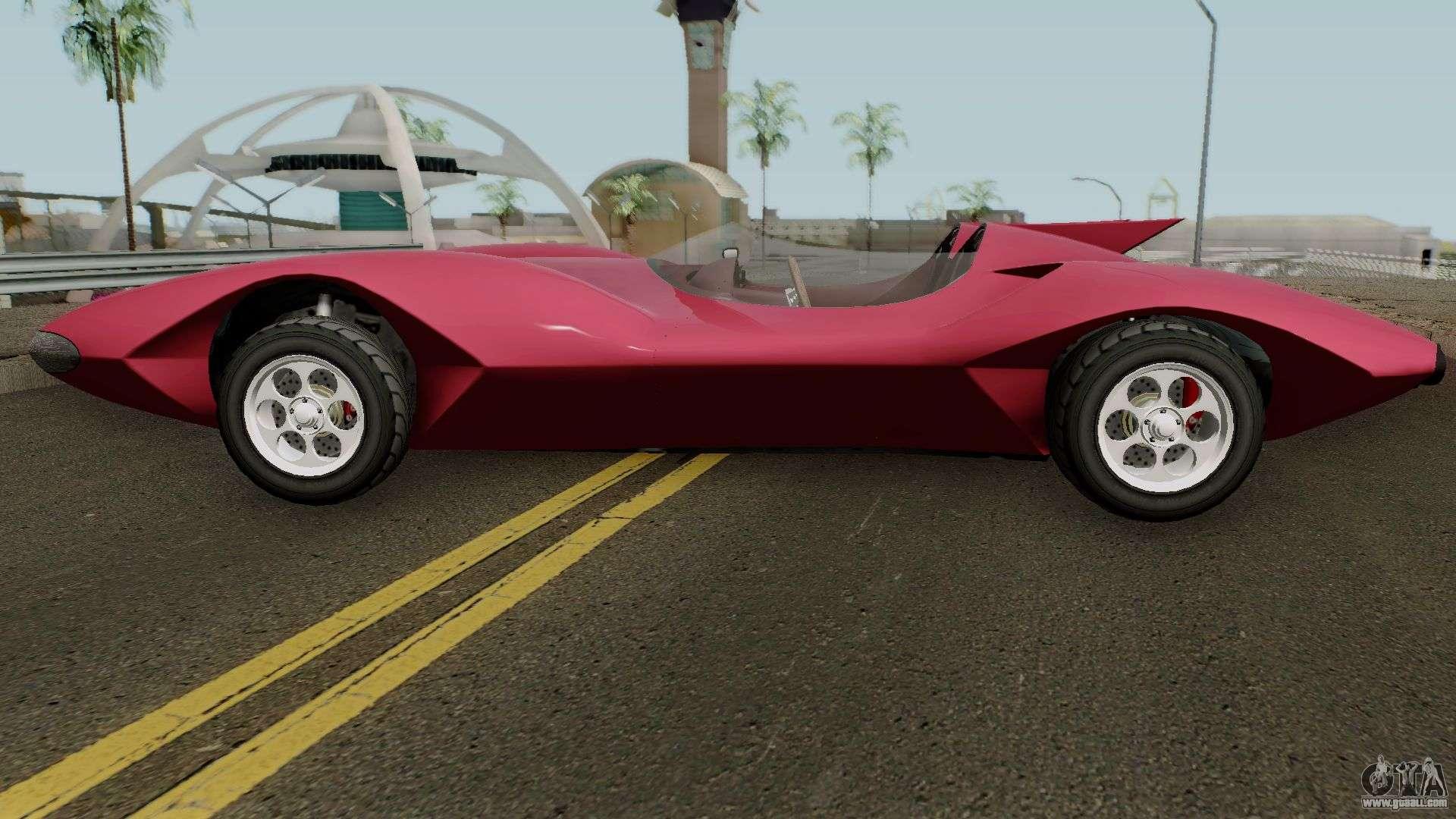 Declasse Scramjet Mach 5 v2 GTA V IVF for GTA San Andreas
