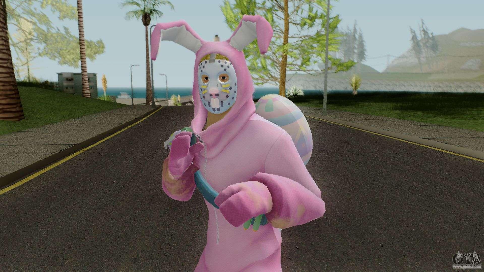 Fortnite Rabbit Raider Outfit Con Normalmap For Gta San Andreas