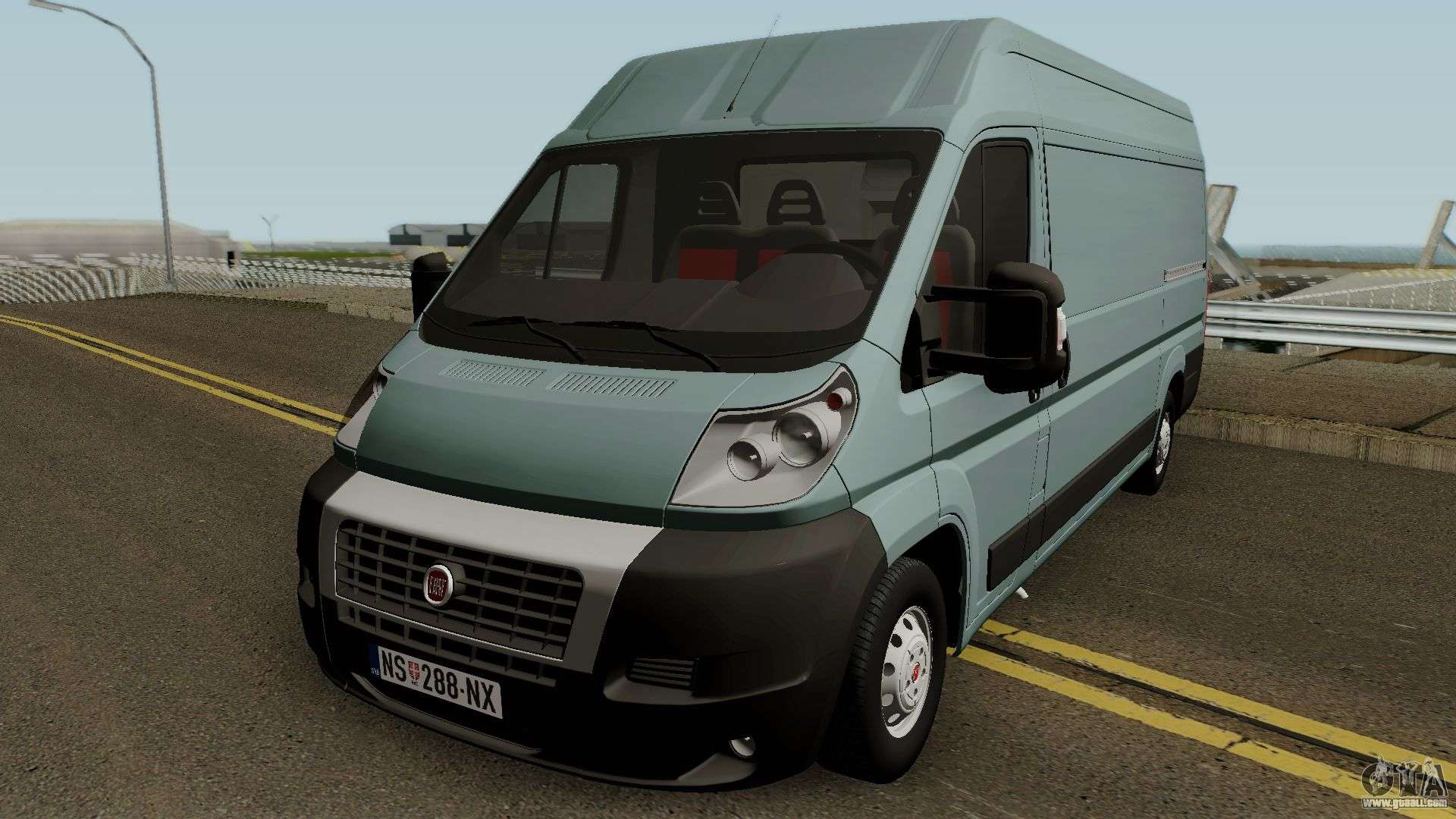 fiat ducato mk3 maxi for gta san andreas. Black Bedroom Furniture Sets. Home Design Ideas