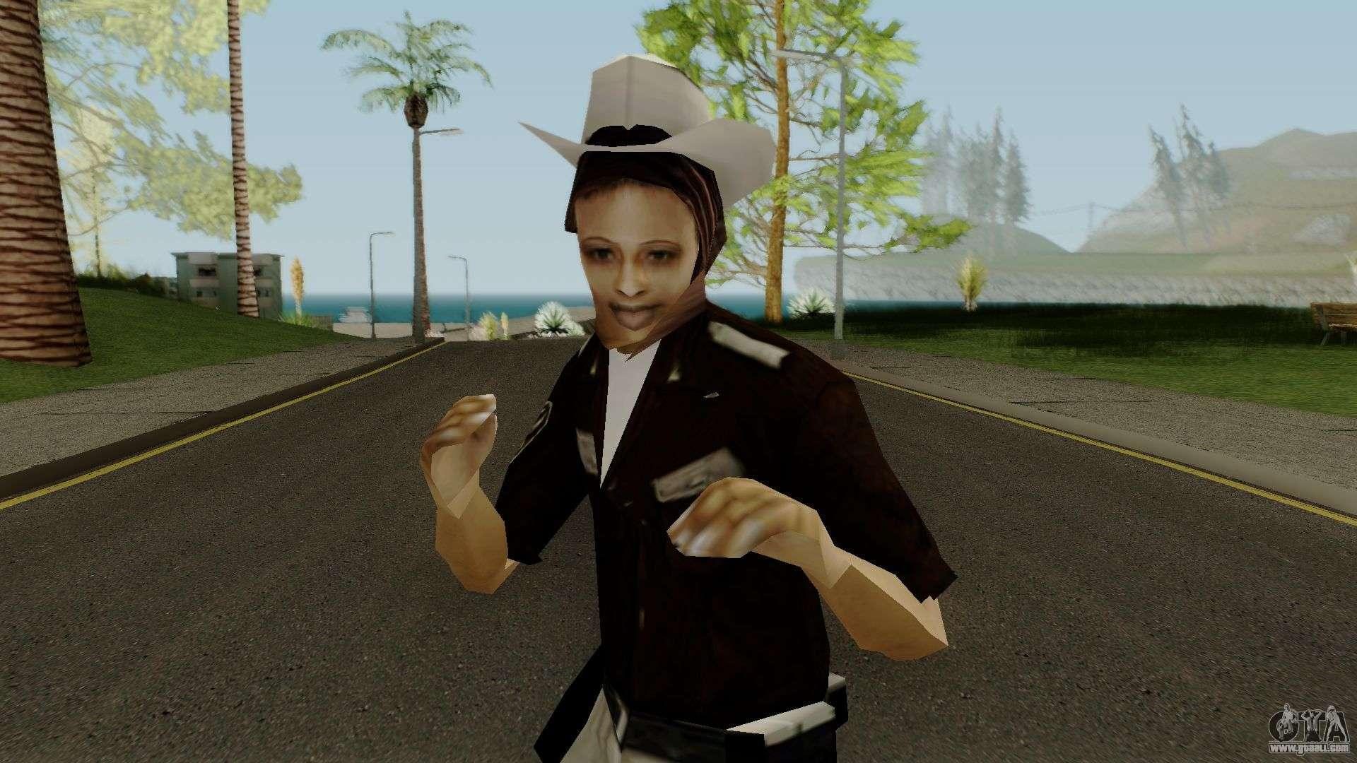 Cop Girl For Gta San Andreas-2344