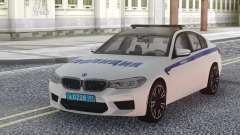 BMW M5 F90 Police for GTA San Andreas