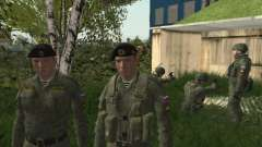 Pak fighters Marine Federation for GTA San Andreas