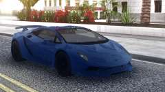 Lamborghini Sesto Elemento Blue for GTA San Andreas