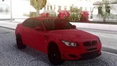 BMW M5 E60 Red Sedan for GTA San Andreas
