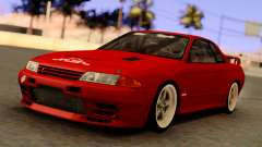 Nissan Skyline GT-R BNR32 TBK Red for GTA San Andreas