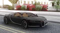 Bugatti Chiron Black for GTA San Andreas