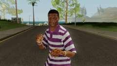 Ballas Member 2 GTA V for GTA San Andreas