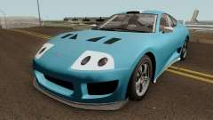 Dinka Jester Classic (r2) GTA V IVF for GTA San Andreas