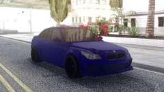 BMW M5 E60 Blue for GTA San Andreas