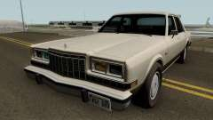 Dodge Diplomat 1981-1987 for GTA San Andreas